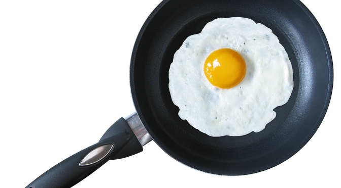Frying an Egg and the Romanian Mother-In-Law